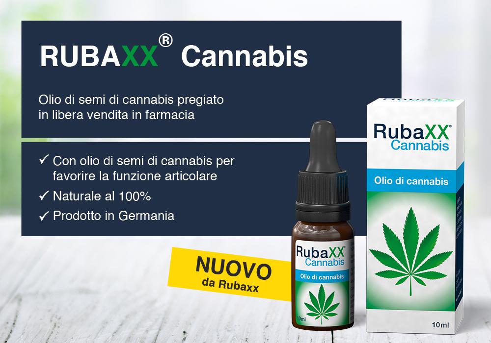 Rubaxx Cannabis Olio Di Semi Di Cannabis Senza Effetti Inebrianti